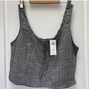 Abercrombie and Fitch crop top size large